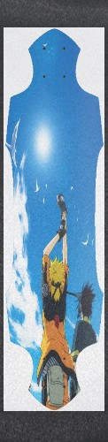 Naruto Sky Custom longboard griptape