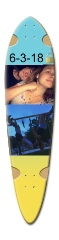 Ryley and Bradley Dart Skateboard Deck v2