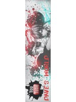check out this cool design Custom skateboard griptape