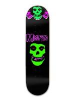 Misfits Party Board Banger Park Skateboard 8.5 x 32 1/8