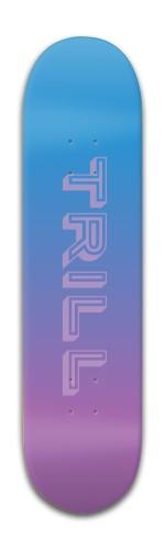 TRILL SKATEBOARDS Banger Park Skateboard 8 x 31 3/4