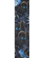 skulls Custom skateboard griptape