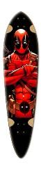 Aidan Long Board Dart Complete Skateboard Deck v2
