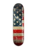 United State Skateboard Team Banger Park Skateboard 8 x 31 3/4