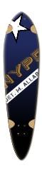 Law Enforcement Dart Complete Skateboard Deck v2