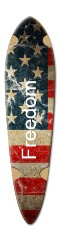 America Dart Skateboard Deck v2