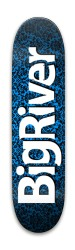 BiggerBluePattern Park Skateboard 8 x 31.775