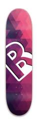 MiniPink Park Skateboard 8 x 31.775