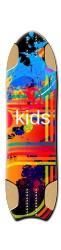 we kids NKD Longboard