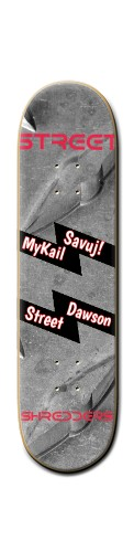 MyKail Dawsons Board Banger Park Skateboard 8 1/4  x 32