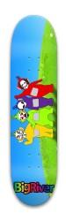 TeleFreaks Park Skateboard 8 x 31.775