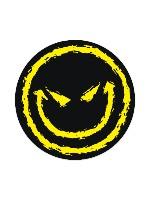 smile corp Sticker 4 x 4 Circle