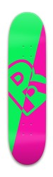 GreenNegative Park Skateboard 8 x 31.775