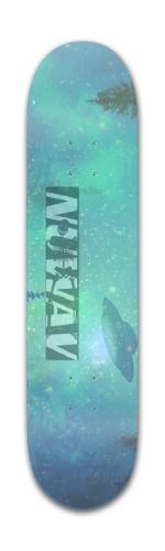 Music Producer NuWAV Banger Park Skateboard 7 3/8 x 31 1/8