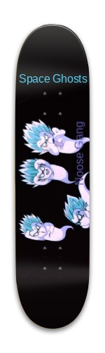 Space Ghosts DBZ Park Skateboard 8 x 31.775