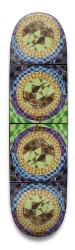 Twisted Sunflowers Park Skateboard 8.5 x 32.463