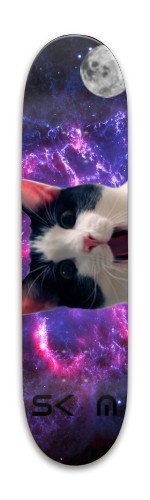 trippy cat Park Skateboard 8 x 31.775