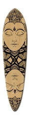 Buddha Moondala Dart Skateboard Deck v2