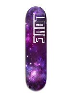 Galaxy Love Banger Park Skateboard 8 x 31 3/4