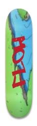 Flow river graphic Park Skateboard 8.25 x 32.463