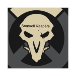Samueli Reapers Sticker 4 x 4 Square