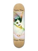 Wylder's skateboard Banger Park Skateboard 8 x 31 3/4