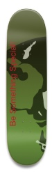 Warrior Board Park Skateboard 9 x 34