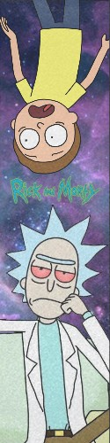 rick and morty Custom skateboard griptape
