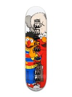 Kaws x Sesame Street Board Banger Park Skateboard 8 x 31 3/4