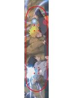 Rasengan vs Chidori Custom skateboard griptape