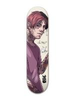 Lil Peep Banger Park Skateboard 7 7/8 x 31 5/8
