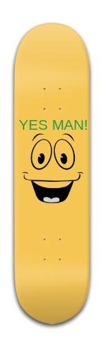 YES MAN (Andy Hopkins Pro Borad Banger Park Skateboard 8 x 31 3/4