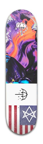 Bmth Banger Park Skateboard 8 x 31 3/4