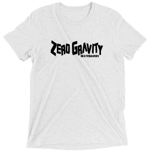 Custom T Shirt - Tri Blend (White Fleck)