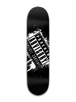 Parental Advisory Banger Park Skateboard 8 x 31 3/4