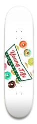 YL Donut Logo Park Skateboard 9 x 34