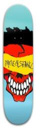 MelechSatanic Rubber Road Worn Skat Park Skateboard 8 x 31.775