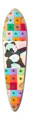 Panda panda Dart Skateboard Deck v2