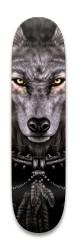 lone wolf Park Skateboard 8.25 x 32.463