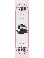 Ban Fox Sin tattoo grip tape Custom skateboard griptape