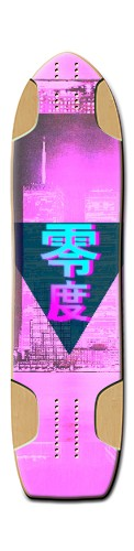 Vaporwave City WIM Ver. (not my art WIM Longboard