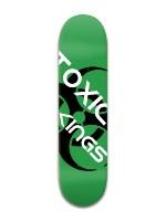 Toxic Banger Park Skateboard 8 x 31 3/4