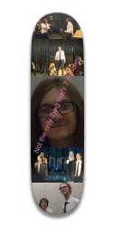 The Sexiest Board Park Skateboard 7.5 x 31.370