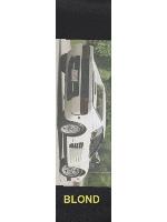 White Ferrari Custom skateboard griptape
