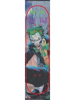 Emerge of the joker Custom skateboard griptape