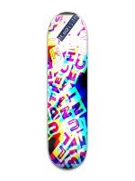 Blunt Technics in 3d Banger Park Skateboard 8 x 31 3/4