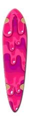 Drip trip Dart Skateboard Deck v2