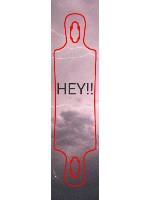 Lily Custom skateboard griptape