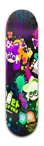 Splatoon Banger Park Skateboard 8 x 31 3/4