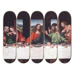 5 Deck Custom Skateboard Mural